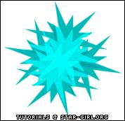 Starry Spikes Paint Shop Pro Tutorial